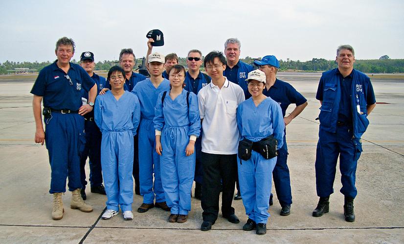 华大基因团队赴泰国进行印度洋海啸遇难者dna鉴定