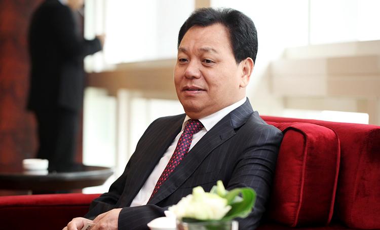 森马集团有限公司董事长邱光和图片